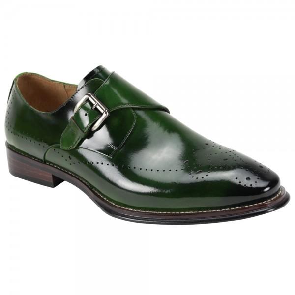 Jeffery Slip-On Men's Shoe by Giovanni - Green