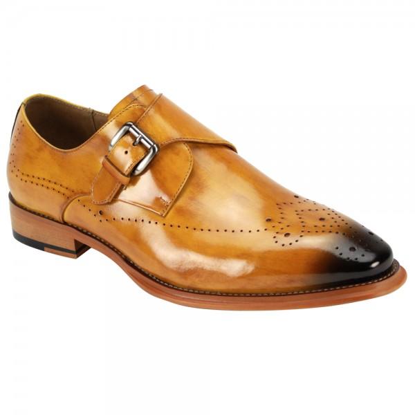 Jeffery Slip-On Men's Shoe by Giovanni - Scotch