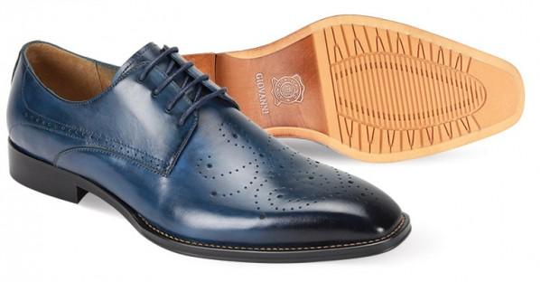 Joel Men's Shoe by Giovanni - Blue b
