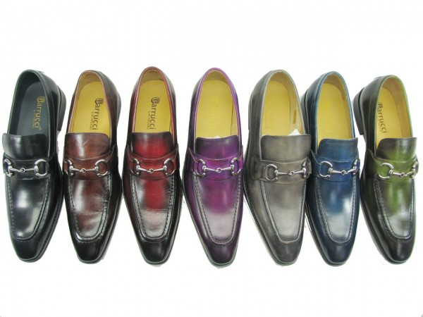 Men's Fashion Shoes by Carrucci - Slip-On  ALL Colors