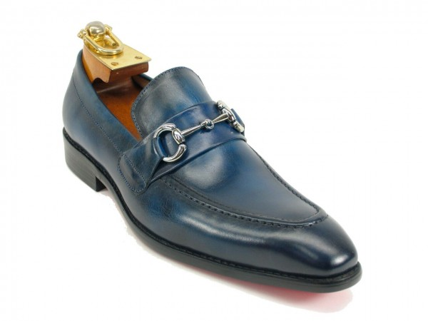 Men's Fashion Shoes by Carrucci - Slip-On Navy Ombre