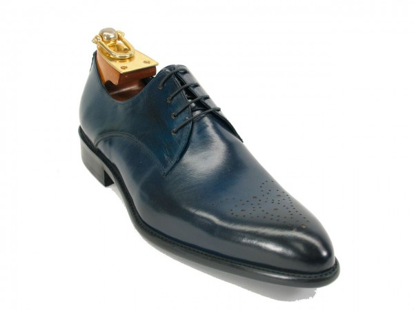 Men's Fashion Shoes by Carrucci - Lace-Up Navy Ombre