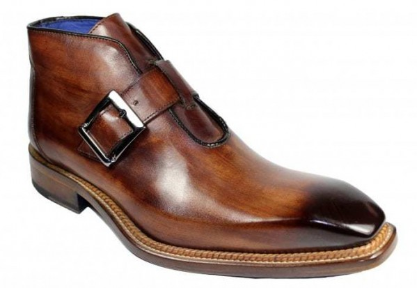 Men's Half Boot by Emilio Franco - Milo Brown