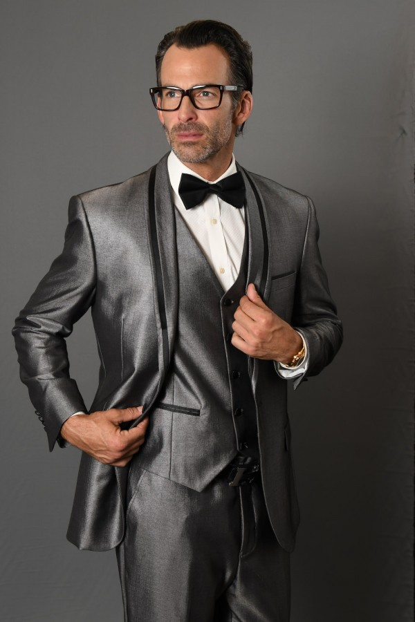 Men's Fashion Tux by STATEMENT - Rio Gray