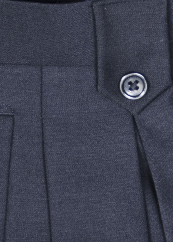 San Giovesse Full Cut Men's Suit  by Tiglio Rosso - Black Pants Detail