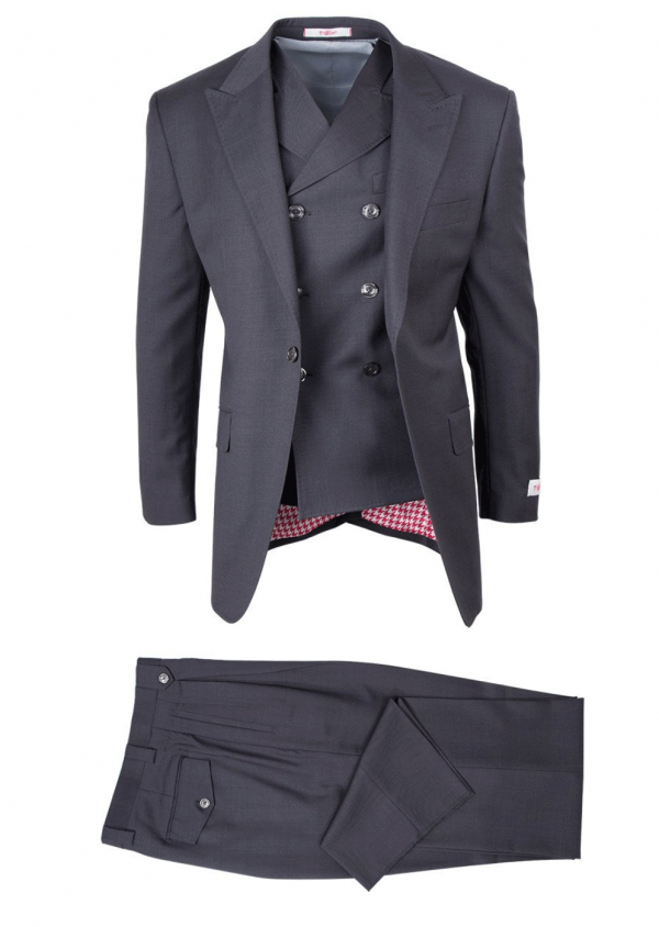 San Giovesse Full Cut Men's Suit  by Tiglio Rosso - Gray