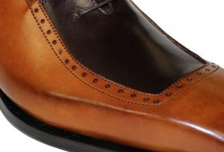 Duca by Matiste Men's Shoes - Made in Italy - Tivoli Cognac Choc b