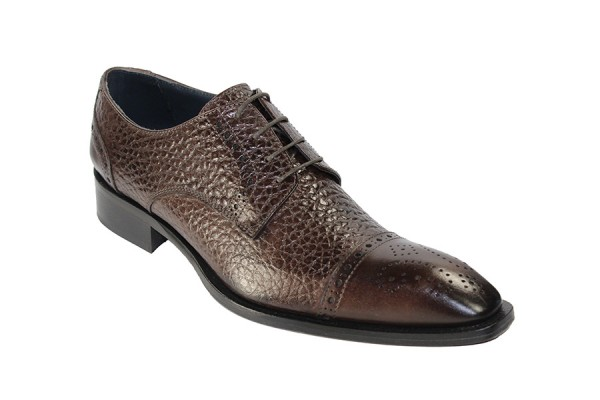 Duca by Matiste Men's Shoes - Made in Italy - Trento - Chocolate