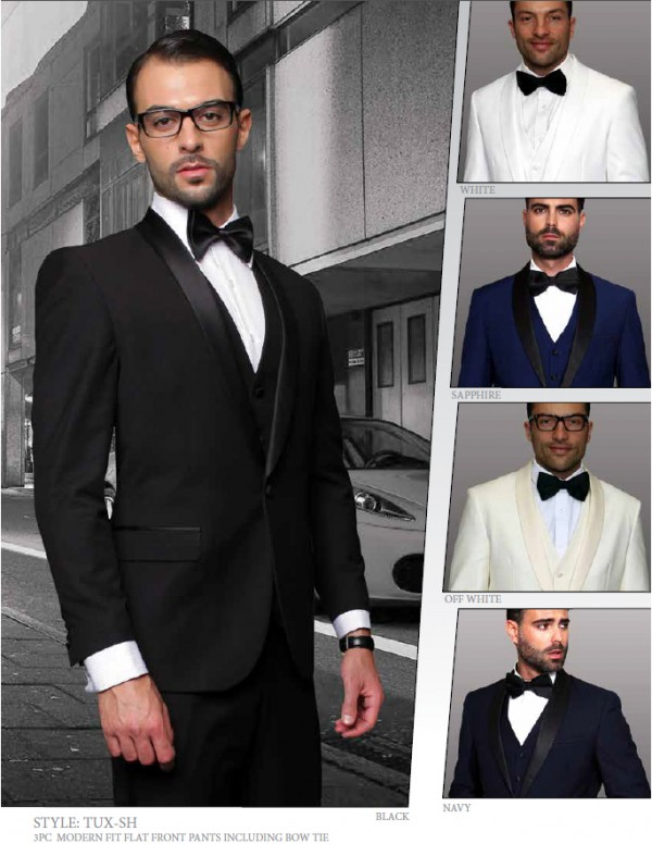 Men's Shawl Collar Tux by STATEMENT - Additional colors