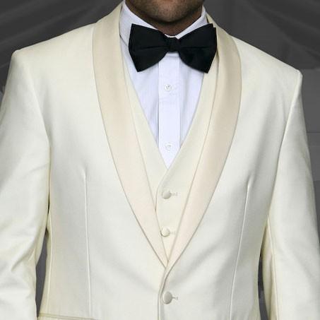 Men's Tux - Tailored Fit - Tux-PK Off White b