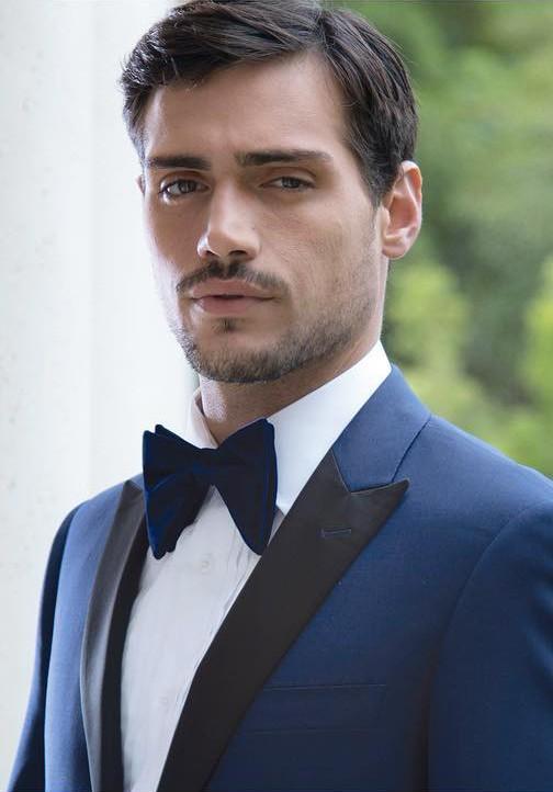Tuxedo shirt with tux b