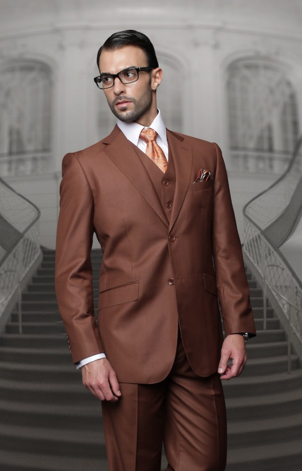 Men's Suit - Regular Fit - Copper
