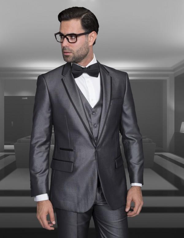 Men's Fashion Tux by STATEMENT - Venetian Gray