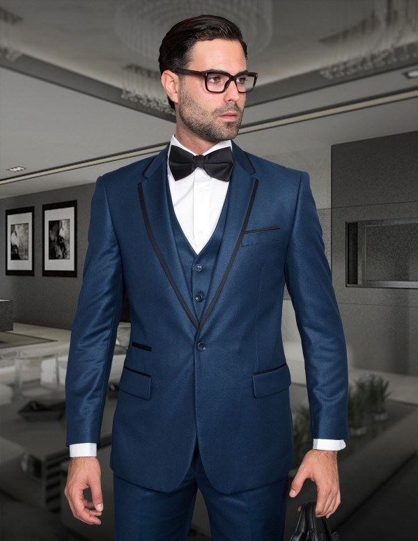 Men's Fashion Tux by STATEMENT - Venetian Indigo