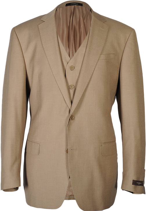 Vitarelli Tan 3 piece suit 786008