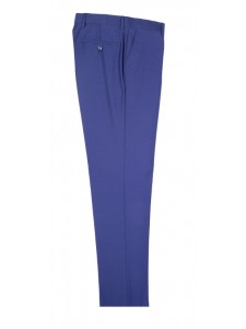 Tiglio Men's Slim Fit Pants - French Blue