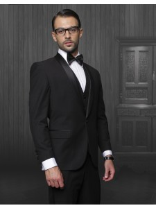 Men's Formal Tux - Modern Fit - Black