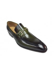 Men's Slip On Shoe by Carrucci in Green