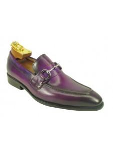 Men's Slip On Shoe by Carrucci in Purple