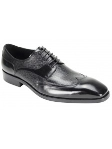 Lace-Up Men's Shoe by Giovanni - Black