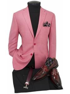 Men's Blazer by Tiglio Luxe - Firenze Coral