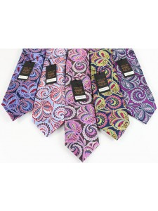 Men's Silk Tie and Pocket Square Set by Verse 9 - BAHRAIN 6-10