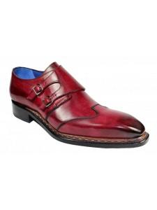 Men's Shoes by Emilio Franco - Baldo Antique Red