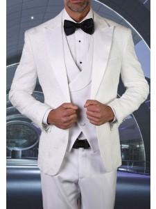 Men's Tux - Tailored Fit - Bellagio-15 White