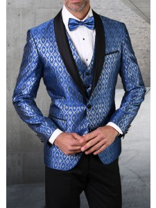 Men's Tux - Tailored Fit - Bellagio-21 Royal