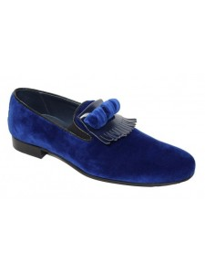 Duca by Matiste Men's Shoes - Made in Italy - Capua Blue