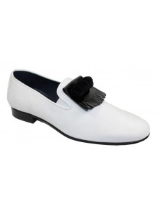 Duca by Matiste Men's Shoes - Made in Italy - Capua White Black