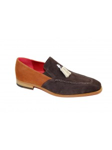 Men's Shoes by Emilio Franco - Brown/Tan
