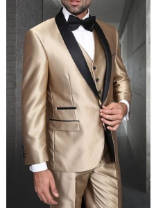 Men's Tux - Tailored Fit - Enzo-7 Champagne