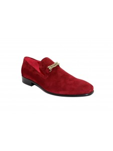Men's Shoes by Emilio Franco - Burgundy