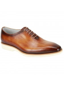 Jared Lace-Up Men's Shoe by Giovanni - Tan