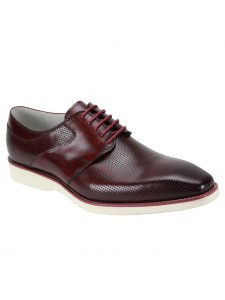 Joshua Lace-Up Men's Shoe by Giovanni - Burgundy