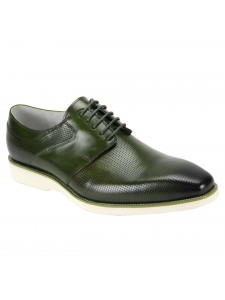 Joshua Lace-Up Men's Shoe by Giovanni - Olive