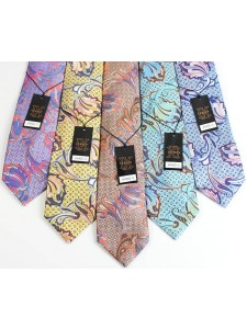 Men's Silk Tie and Pocket Square Set by Verse 9 - KANO 1-5
