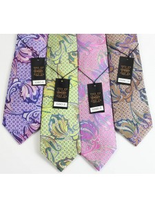 Men's Silk Tie and Pocket Square Set by Verse 9 - KANO 6-10