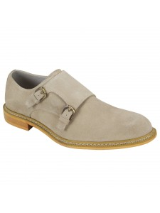 Kasey Slip-On Men's Shoe by Giovanni - Bone