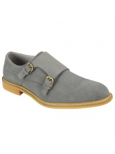 Kasey Slip-On Men's Shoe by Giovanni - Light Grey
