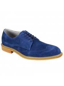 Kennedy Lace-Up Men's Shoe by Giovanni - Blue