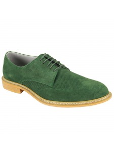 Kennedy Lace-Up Men's Shoe by Giovanni - Green