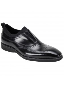 Kingston Slip-On Men's Shoe by Giovanni - Black