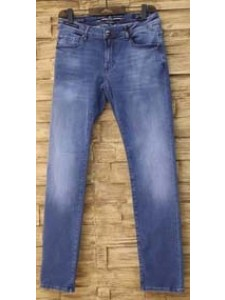 Gem Malki Men's Stretch Denim Collection - Denim Fade