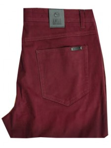 Enzo Denim Collection Mens Jeans - Leo-4 - Cranberry