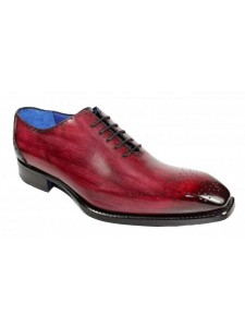 Men's Shoes by Emilio Franco - Lorenzo Antique Red Burgundy