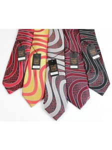 Men's Silk Tie and Pocket Square Set by Verse 9 - LUXENBERG 1-5