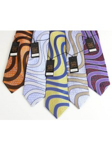 Men's Silk Tie and Pocket Square Set by Verse 9 - LUXENBERG 6-10