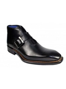 Men's Half Boot by Emilio Franco - Milo Black